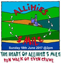 Heart of Allihies 5 Mile Run in Scenic West Cork...Sun 18th June 2017
