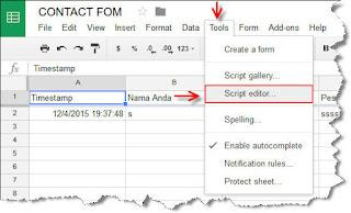 Cara Mengaktifkan Email Notifikasi Google Form
