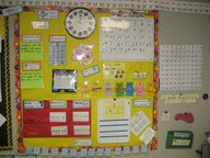 Math Focus Wall http://sisterteachers.blogspot.com/2011/08/last-linky-before-school-begins.html