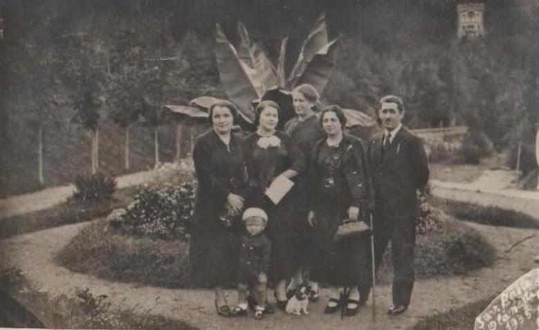 Poza de familie - Olanesti 1935