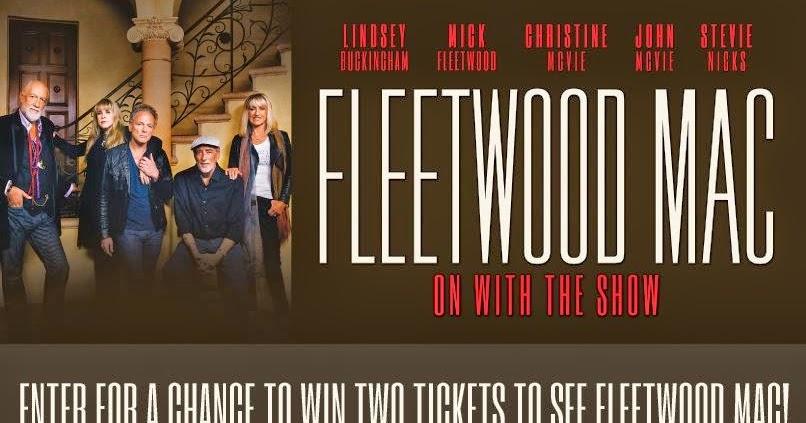 Fleetwood Mac Canadian Tour Dates
