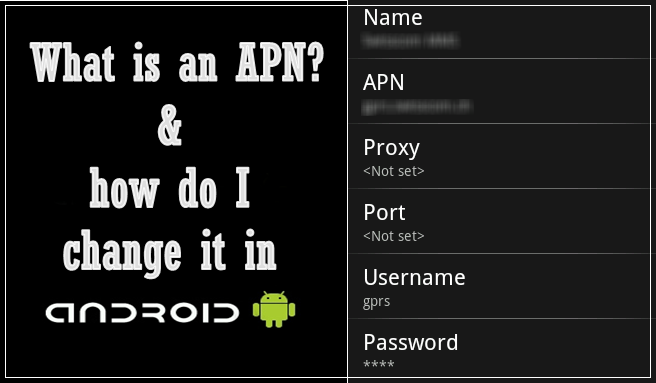 What is an APN, and how do I change it in Android?