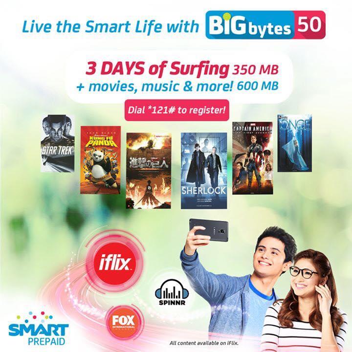 Smart Prepaid Big Bytes 50