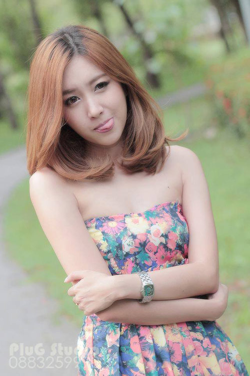 Ảnh gái xinh Thái Lan thật giả lẫn lộn 10