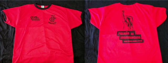 Foto da camisa Dry-Fit Raça Rubro Negra - Pulmão da Arquibancada