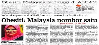 malaysia negara gemuk