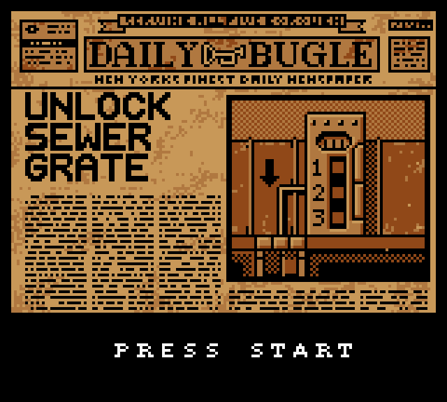 Daily Bugle Unlock Sewer Grate newspaper game
