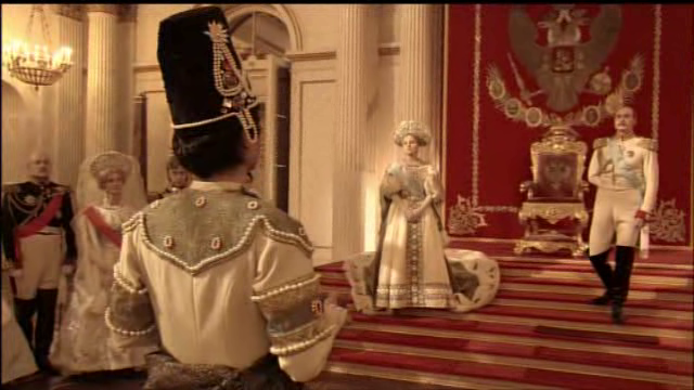 Russian Ark 2002 film Alexander Sokurov Tsar apology audience scene