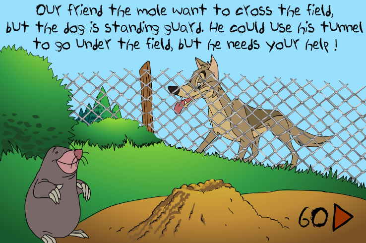 Kids Game : Mole Maze