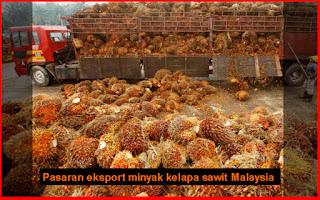 Pasaran eksport minyak kelapa sawit Malaysia