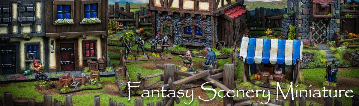Fantasy Scenery Miniature
