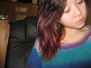 Attempted red ombre hair!