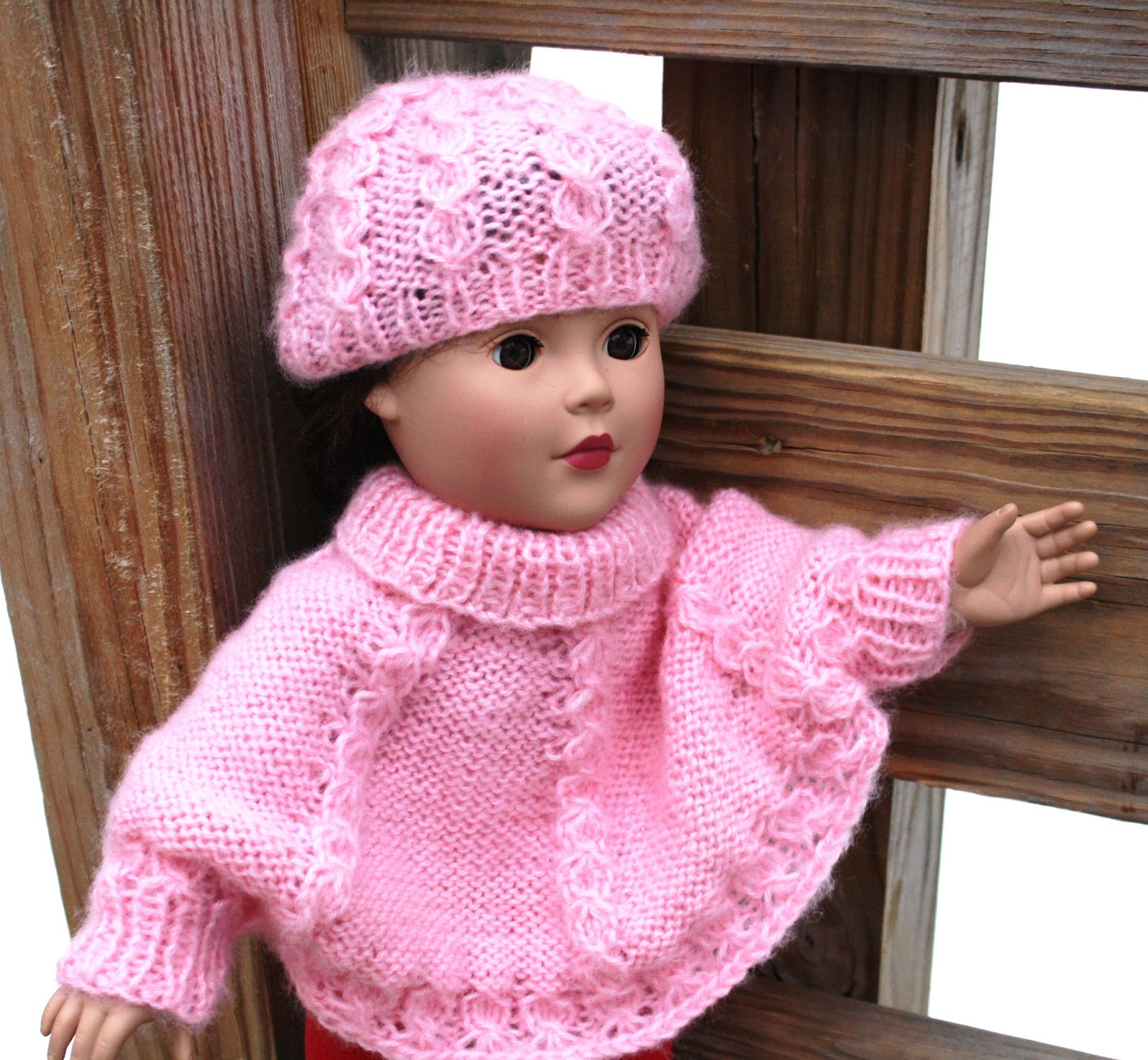 All Knitted Lace: New Pattern: Cable Sweater and Hat Set for 18\
