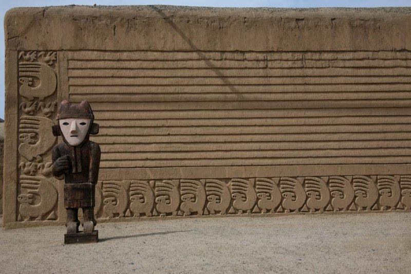 Chan Chan is an archaeological site and the largest Pre-Columbian city in South America, located in the Moche Valley, 5 kilometers from Trujillo, Peru.