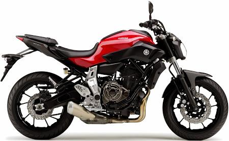 Yamaha MT-07 (Foto 2). Majalah Otomotif Online