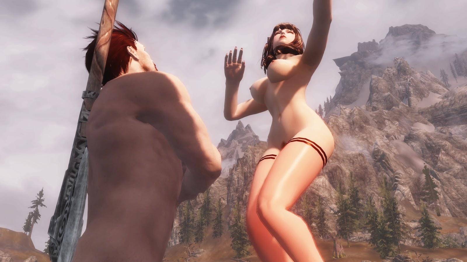 Skyrim adult mods nude anime galleries