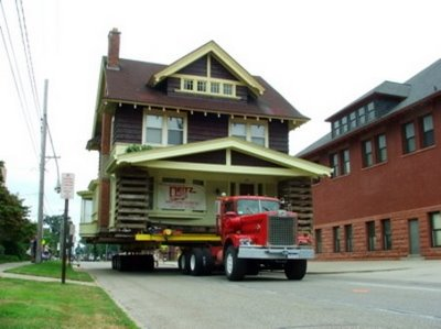 house moving: