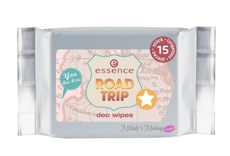 Essence Road Trip toallitas desodorantes