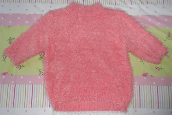 Primark Pink Fluffy Crop Top