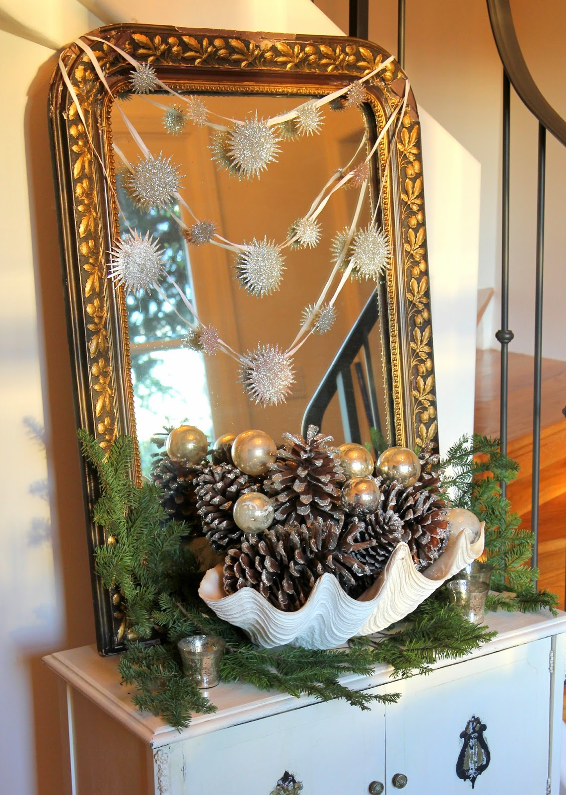Christmas decoration for a Foyer