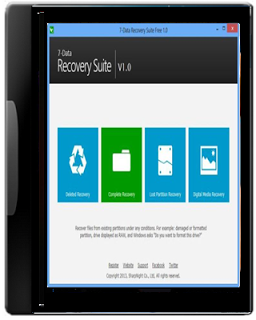 7-Data Recovery Suite 2.0.0.1 with Serial full version