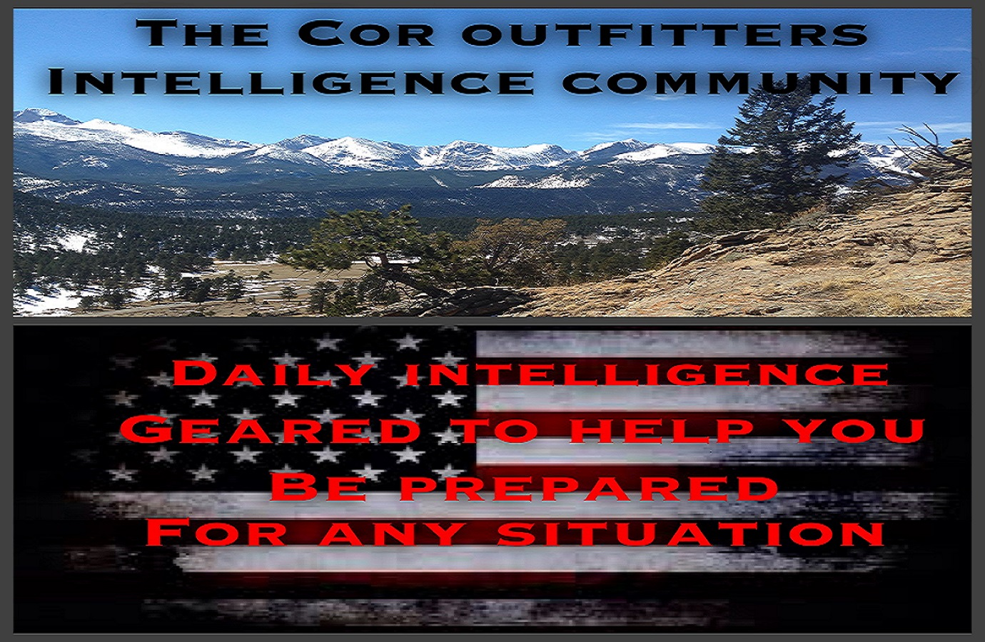The Cor Outfitters Intelligence Community