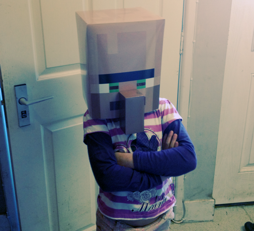 Minecraft Villager Mask