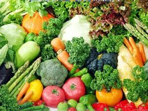 buah buahan dan sayuran