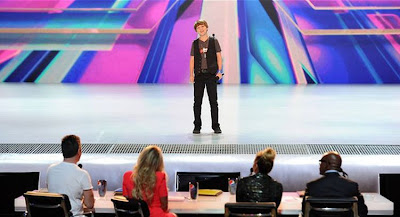 "Reed Deming performing on the ""X Factor"" Video and Photos"