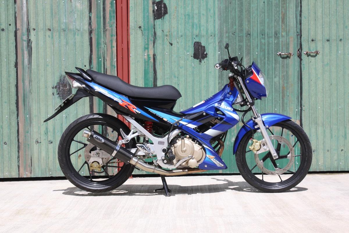 Suzuki Raider 150 Thailand title=