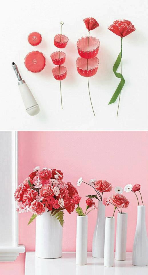 El detalle que hace la diferencia papel adornos for Rosas de papel