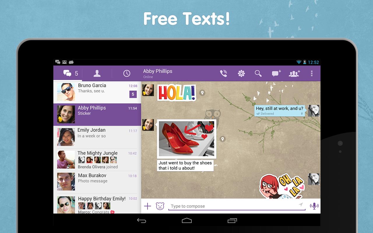 Viber Android Apk Uygulama resimi 4