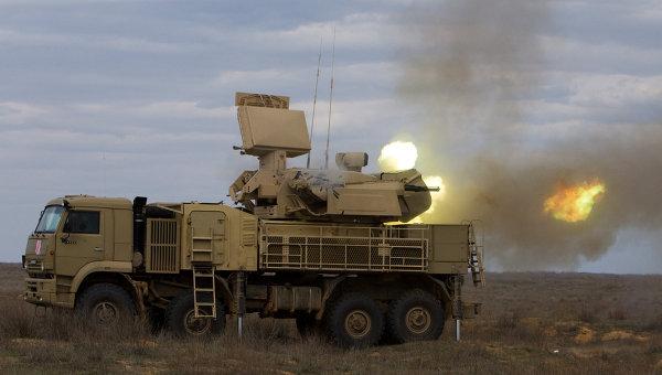 Pantsyr-S1 (SA-22 Greyhound) Short-Range Air Defense System ...