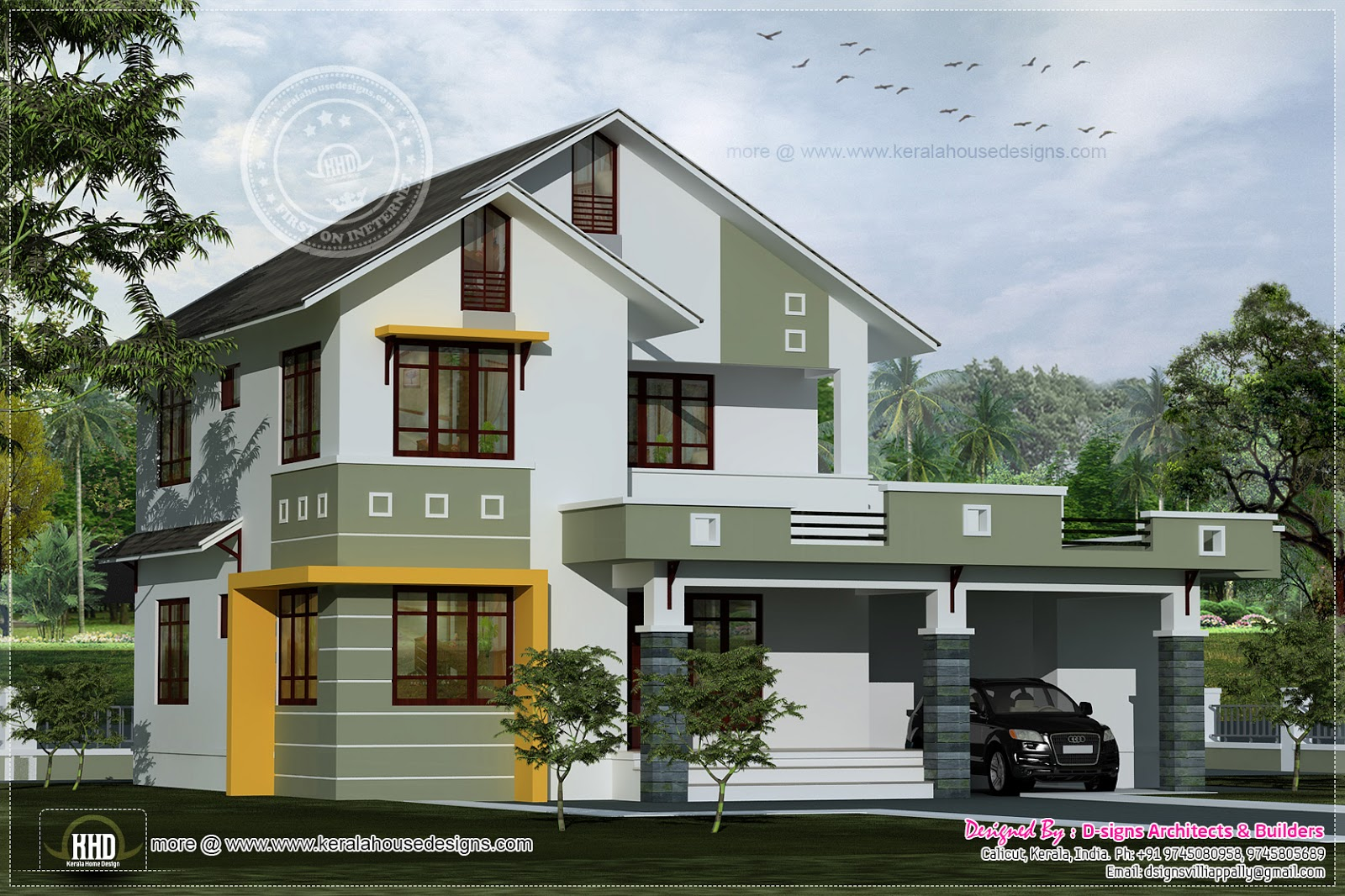 Villa Home Design Exterior