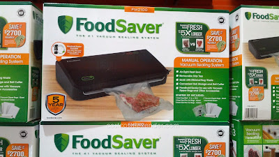 Save money and food with the FoodSaver FM2100 Vacuum Sealing System