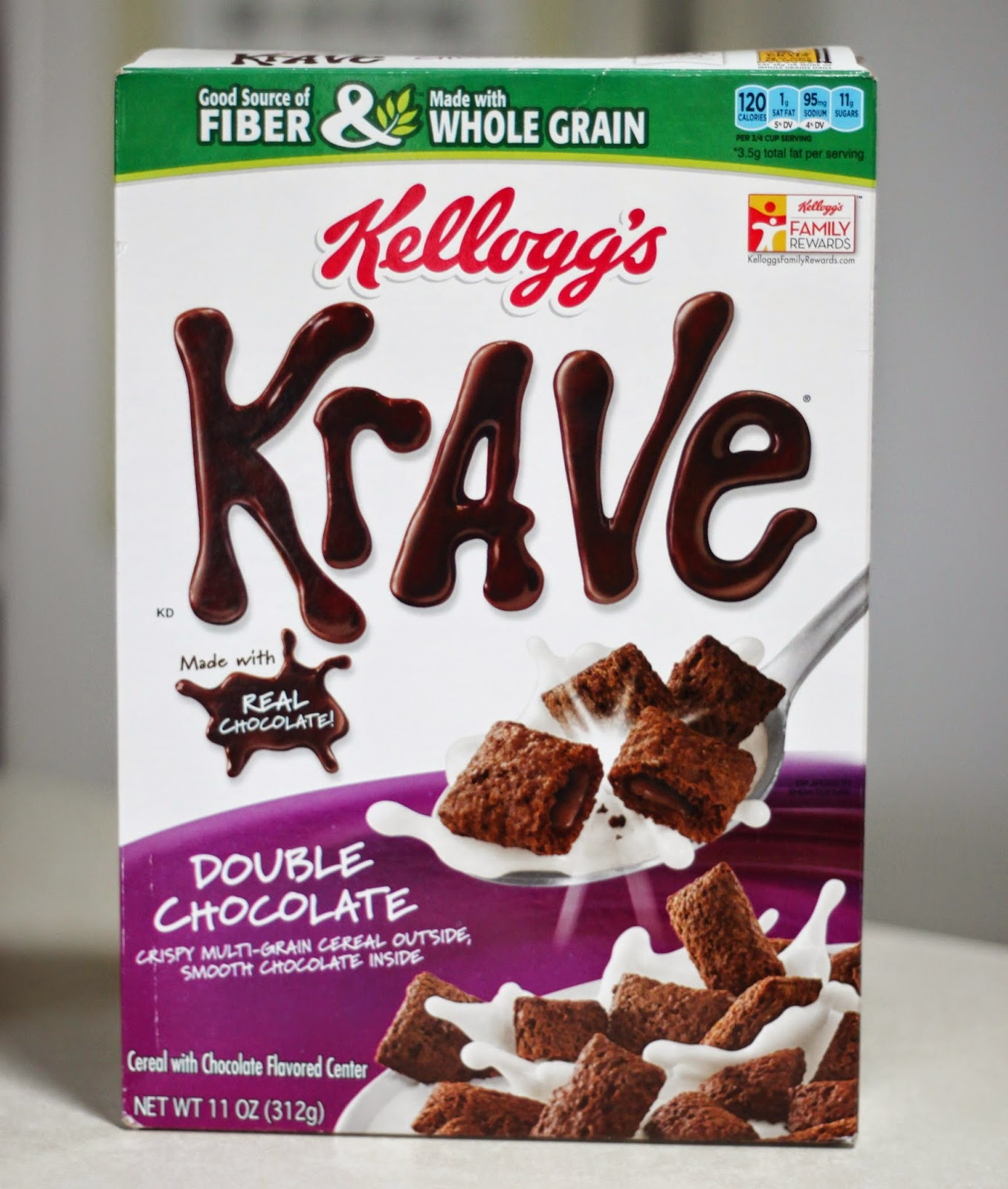breakfast cereal brownies in a box