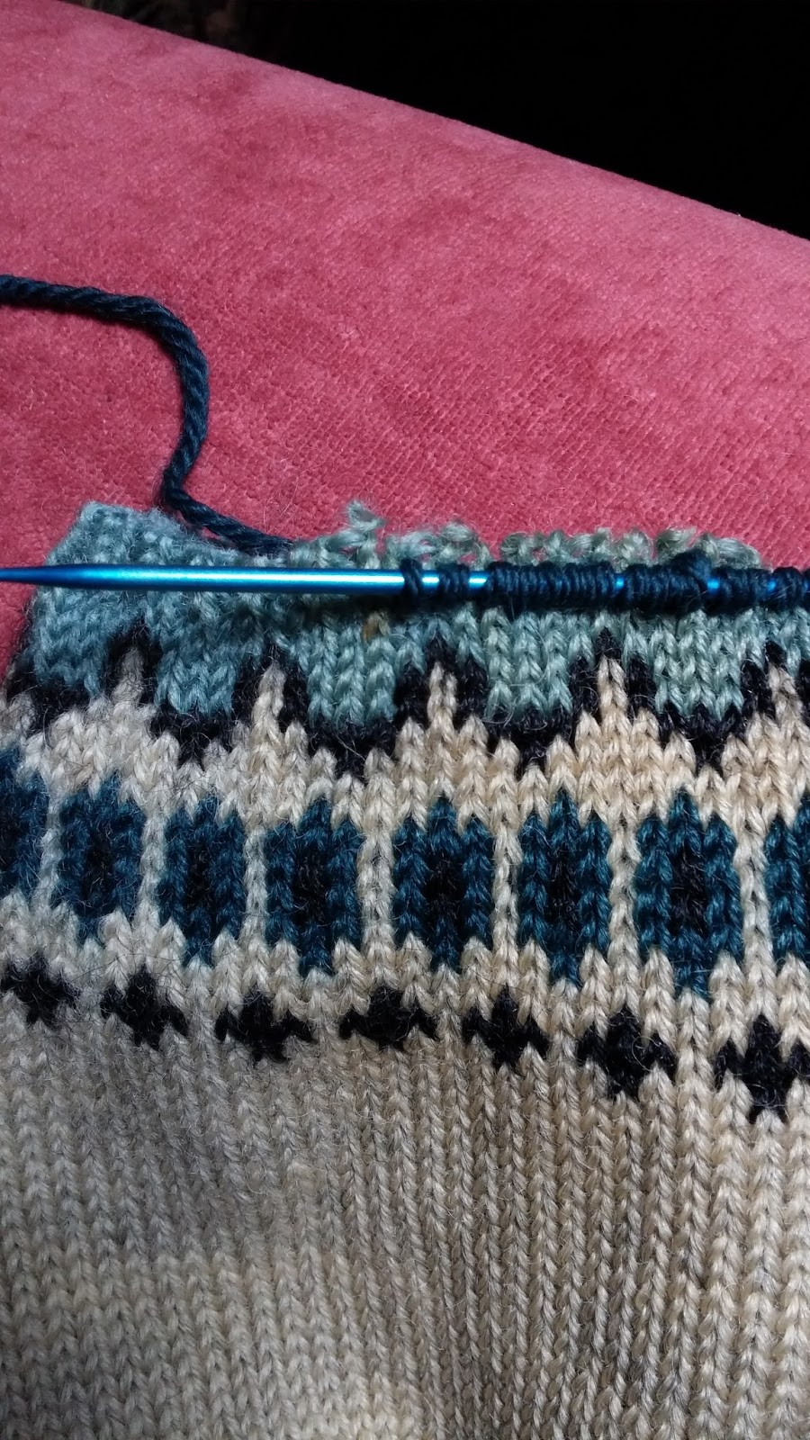 Knitting Pick Up Stitches With Crochet Hook : Mary Lachman Design