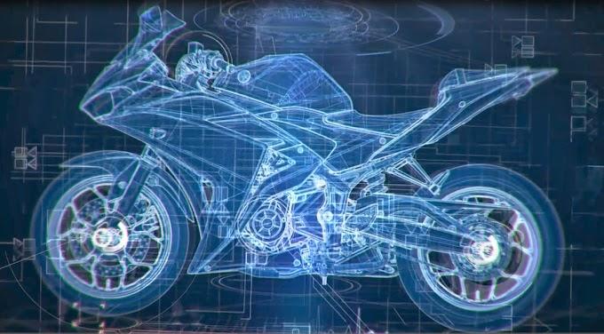 Inikah Sketsa Yamaha R25 Mass Pro?