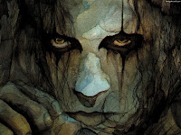Stone Eyes Face - Dark Gothic Wallpapers