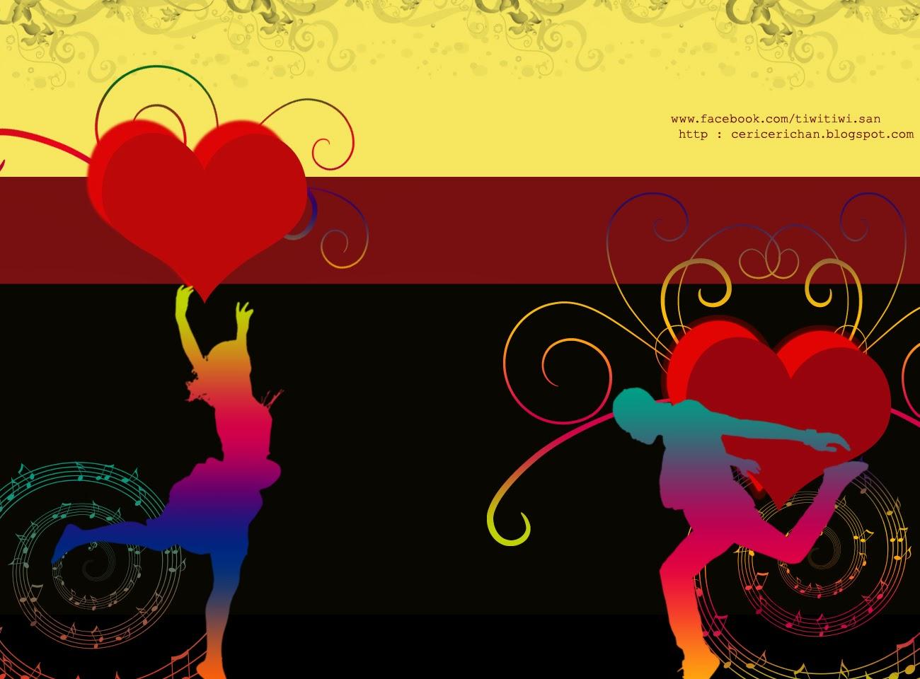 jamuan, cinta, puisi, wallpaper