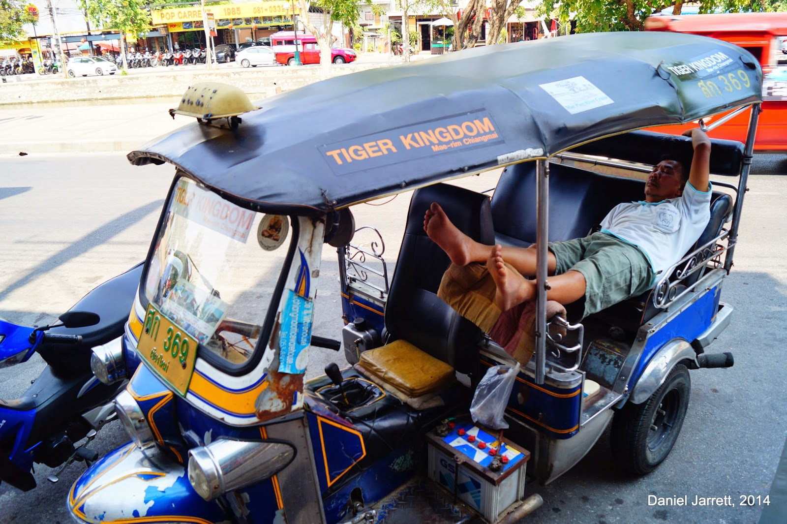 Racing At The Speed of Tuk-Tuk