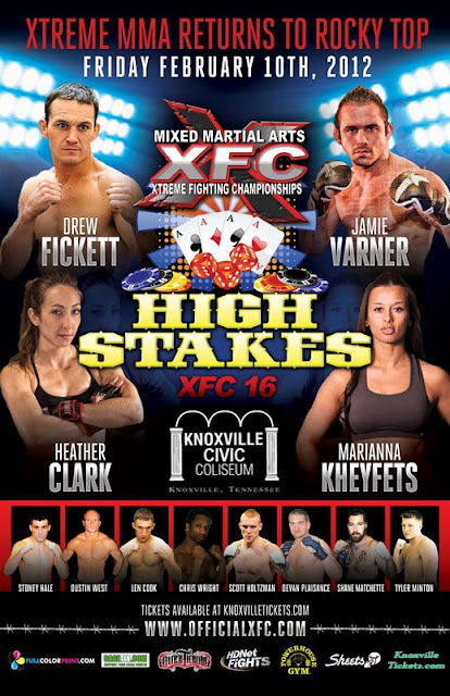XFC 16 Poster