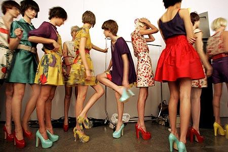 Abbigliamento femminile anni 70
