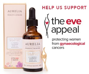 Limited Edition Aurelia Collaboration in support of The Eve Appeal