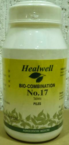 bio-combination no 17 haemorrhoids piles