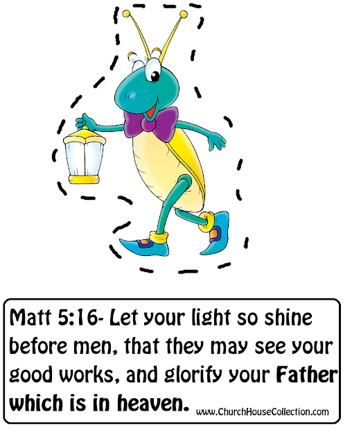 Let Your Light Shine Cutout Craft For Sunday School Kids- Matthew 5:16- By Church House Collection