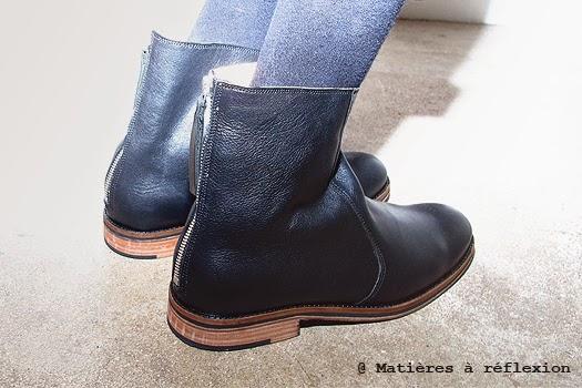 Boots homme en solde Craie