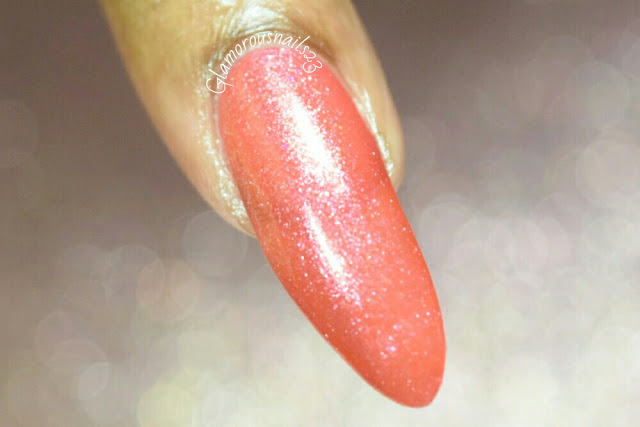 "L.A. Colors Color Craze ""Coral Reef"" Swatch"