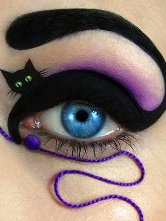 halloween makijaz
