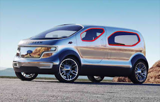 Ford Airstream Car Concept